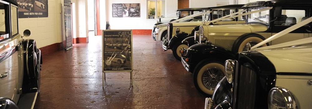 Campbell Wedding Car Showroom